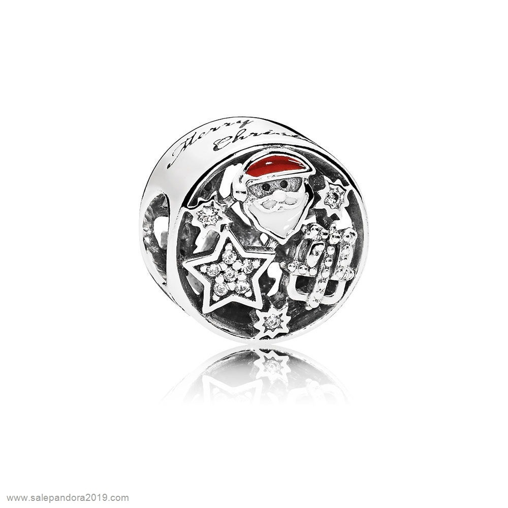 Premade Pandora Inspiration Joy Charm Mixed Enamel Clear Cz