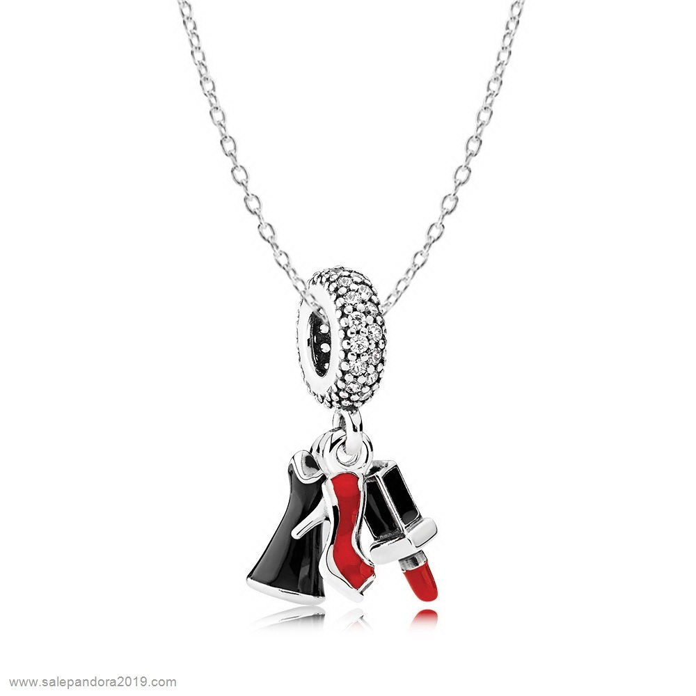 Premade Pandora Girls Night Out Necklace