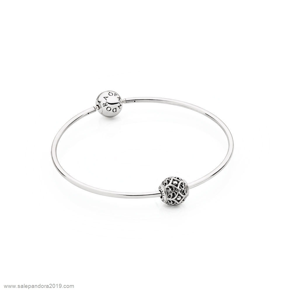 Premade Pandora Pandora Essence Essence Affection Bracelet Gift Set