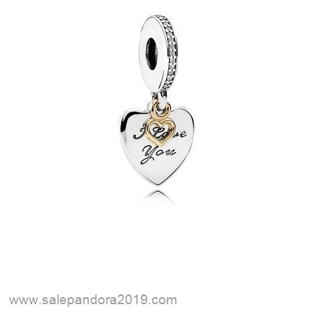Premade Pandora Pandora Wedding Anniversary Charms Love You Forever Pendant Charm Clear Cz